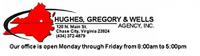 Hughes Gregory & Wells Agency Inc - The employee benefits broker and group health insurance advisor in Chase City